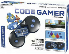 Thames & Kosmos Code Gamer with KosmoBits Arduino Coding Game and Workshop Kit