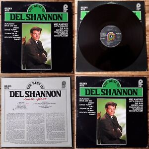 DEL SHANNON -LP US Pr.- THE BEST OF-RUNAWAY-LITTLE TOWN FLIRT-HANDY MAN…USA 1978