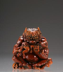 YOKAI Japanese Demon Spirit Shinto Oni Ogre Troll mascot charm netsuke strap 鬼
