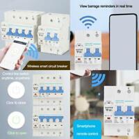 WiFi 4P Smart Circuit Breaker Automatikschalter Überlastschutz Favor neu X5B5