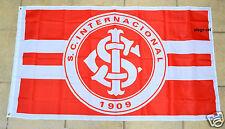 Sport Club Internacional Flag Banner Bandeira 3x5 ft Inter Porto Alegre Brasil