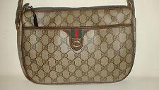 100% AUTH. VINTAGE GOLD GUCCI  LOGO SHOULDER BAG EVENING BAG  RARE  1970,/80,s