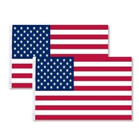 2 Pack 3x5 American Flag USA United States U.S Stripes Stars Flag