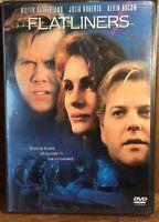 Flatliners (DVD 2001) Kiefer Sutherland Julia Roberts Kevin Bacon NEW SEALED