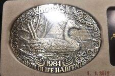 AWARD DESIGN MEDALS NEBRASKA WILDLIFE HABITAT 1984 CANADA GOOSE LIMITED ED [924]