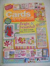 Magazine. Simply Cards & Papercraft. Issue 44. Bright & Beautiful. Masterclass.