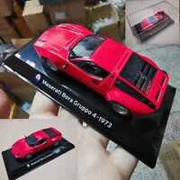 1:43 Maserati Bora Gruppo 4-1973 Red Diecast Vehicles Car Model child Toys