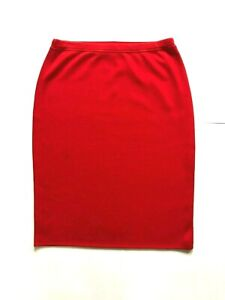 ESCADA Women's Skirt Red Color Size 42