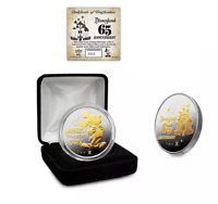 DISNEYLAND 65th ANNIVERSARY COMMEMORATIVE LIMITED EDITION COIN #0315 IN HAND!