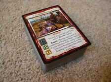 7th Sea CCG Scarlet Seas 100 unique common and uncommon cards NM/M