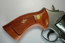 S&W K,L frame grip fit ROUND BUTT ONLY, New Hardwood Thailand Smith&Wesson