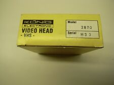 VHS VCR 2-VIDEO HEAD DRUM ASSEMBLY - Konig Model 2870. NEW, UNUSED