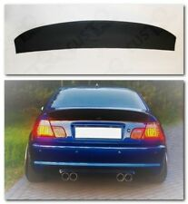 BMW E46 CSL style trunk rear FRP SPOILER DUCKTAIL for sedan 4door
