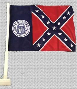 1956-2001 GA Car Flag