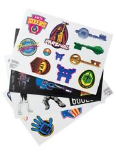 Ready Player One waterproof and Reusable Gadget Decals, 35 Stickers
