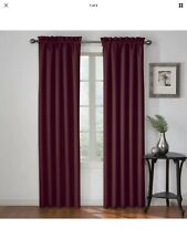 "Eclipse Corinne Curtain - Plum - 42""x63"" - Set Of 2"