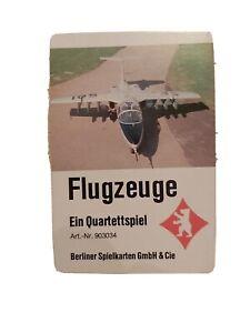 Quartett - Flugzeuge / Berliner Spielkarten Nr. 903034