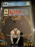Valiant Rai #5 CGC 9.6 NM+ white pages