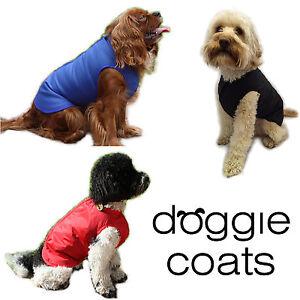 Doggie Coats Step In Luxury Fleece Lined Waterproof Dog Coat
