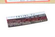 Honda CB 750 Four K1-K6 Aufkleber Öltank oil tank 87125-300-010P