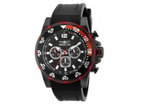 Invicta Men's 20030 Pro-Diver Black And Red Tachymeter Chronograph Sport Watch