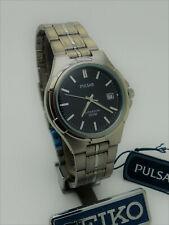 Pulsar PXD 809 SEIKO Titanium Quartz Mineral Glass Wristwatch New
