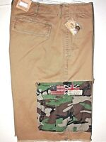 Denim & Supply Ralph Lauren short cargo size 32 USA UK flag patch