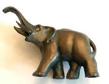 Vintage Cast Metal Elephant Figurine
