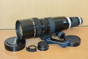 [URTRA RARE Canon FL 600mm f/5.6 MF Telephoto Lens From JAPAN #3079