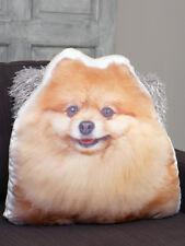 New Pomeranian Shaped Cushion Cute Puppy Photo Pillow Sofa Home Patio Decor
