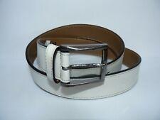 Nordstrom 1901 Off-white leather belt NWOT Mens Size 38