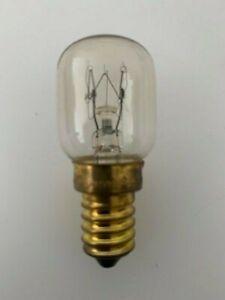 25w Oven Bulb Lamp 300°C Cooker Appliance Light E14 SES For Bosch AEG NEFF Ovens