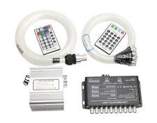 10W Twinkle Meteor Light RF Remote LED Fiber Optic Star Ceiling Kit 380pcs 6.5ft