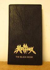 HELLION Black Book promotional pocket day-planner 1990 heavy metal Ann Boleyn