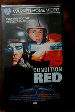 Condition Red Rebecca DeMornay Powers Boothe  Warner Home Video VHS FSK 16 xx
