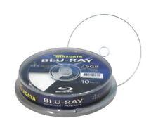 10 Traxdata Blu-ray 4x grabable Inkjet Imprimible BDR Ritek 4x 25 GB 130 Min