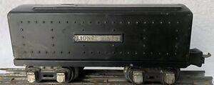 LIONEL LINES - Prewar CIRCA 1938 - Black Tender #2689W - FAST SHIPPING!