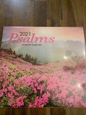 2021 Psalms 16 Month Wall Calendar  20
