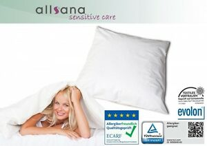 Allsana Allergiker Kissenbezug 80x80 cm Encasing Anti Milben Bettwäsche