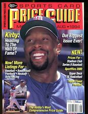 SCD Sports Card Price Guide August 1994 Kirby Puckett jhscd