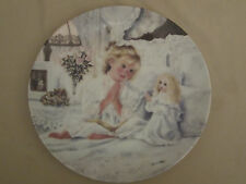 NOW I LAY ME DOWN TO SLEEP collector plate CORINNE LAYTON Small Blessings DOLL