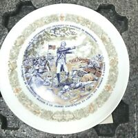 "Lafayette Legacy Collection Collector Plate,Limoges ""Battle of Brandywine"""