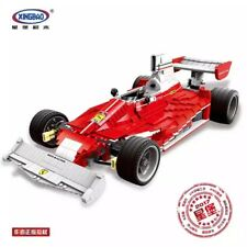 Xingbao 03023 Red Power Racing Car 2405 piece compatible blocks model