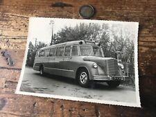 photographie ancienne bus ou car numéro 15