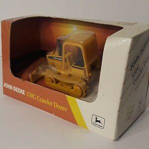 ERTL John Deere Crawler Dozer 550G in Package 1:64 Scale Replica Toy 1995
