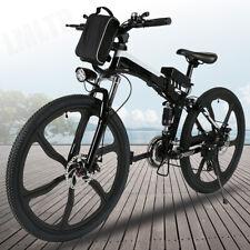 26'' Electric Bike Foldable Mountain Bicycle E-Bike 36V LI-LON 21Speed 30km/h