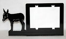 Mini Donkey Baby Burro Picture Frame Fits 5x7 Picture Plasma Cut Metal Art