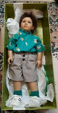 """Annette Himstedt Reflections of Youth Kai 27"""" Doll Puppen Kinder Spain w/ Box"""
