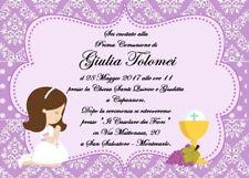 Prima Comunione A Inviti E Carta Da Lettere Per Feste E Occasioni