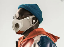 XUPERMASK White/Grey/Orange Size: S/M ANC Audio and HEPA Filters by HONEYWELL